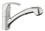 Grohe - 	32 999 SD0 SS/SoftBlack Pullout Spray Fct