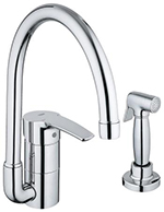 Grohe 33980001 - Eurostyle Kitchen w/ Metal Spray (New)