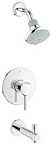 Grohe 35009001 - Concetto PBV set conc. bath US