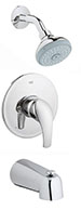 Grohe 35012001 - Eurosmart Tub / Shower Comb. Trim
