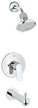 Grohe 35019000 - Eurosmart Cosmo Tub and Shower Combo