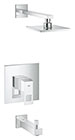 Grohe 35027000 - Eurocube Tub/shower combo