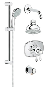 Grohe 35053000 - GrohFlex shower Set Authentic PBV