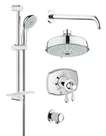 Grohe 35054000 - GrohFlex shower Set Authentic THM