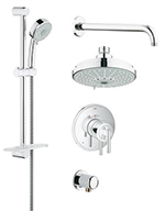 Grohe 35056000 - GrohFlex shower Set Timeless THM