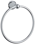 Grohe 40158000 - Seabury Towel Ring