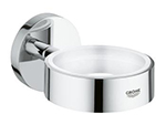 Grohe 40369000 - Essentials holder f glass and soap dish