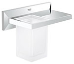 Grohe 40503000 - Allure Brilliant glas incl. shelf