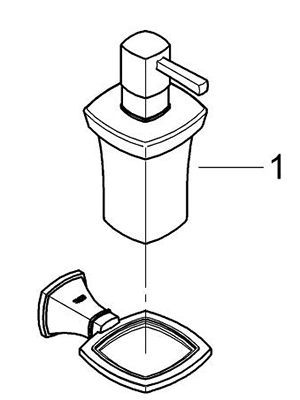 Grohe 40627000 - Parts Breakdown
