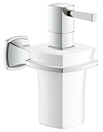 Grohe 40627000 - Grandera soap dispenser +holder