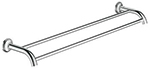 Grohe 40654000 - Essentials Authentic bath towel bar 600