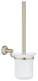 Grohe 40658EN0 - Essentials Authentic toilet brush set