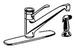 Grohe Classic - 33 857 Euromix Kitchen Faucet - Replacement Parts